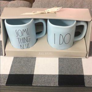 Rae Dunn wedding collection mugs
